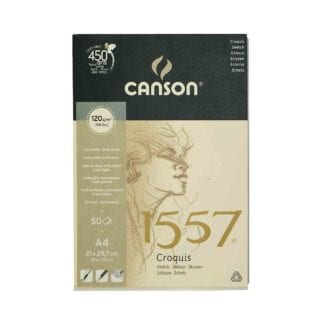 Canson 1557 Glued Drawing Pad