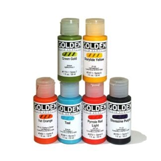 Golden Fluid Acrylic Colours