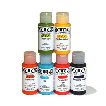 Golden Fluid Acrylic Colours
