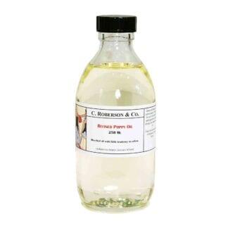 Roberson Alkali Refined Poppy Oil