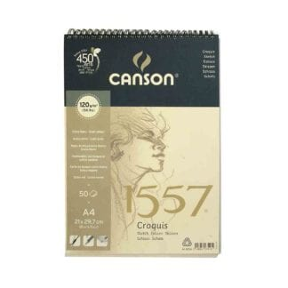 Canson 1557 Spiral Pad