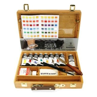 Winsor & Newton Artists Acrylic Set